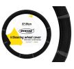 AMiO 71071/01361 Lenkradbezug Ø: 37-39cm, PP (Polypropylen), schwarz, grau zu niedrigen Preisen online kaufen!