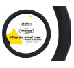 71074/01364 Steering wheel protectors Ø: 35-37cm, Leatherette, Black from AMiO at low prices - buy now!