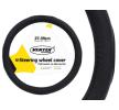 AMiO 71075/01365 Lenkradbezug Ø: 37-39cm, PVC, schwarz reduzierte Preise - Jetzt bestellen!