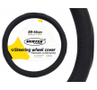 71076/01366 Couverture de volant Ø: 39-41cm, PVC, noir AMiO à petits prix à acheter dès maintenant !