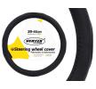 71076/01366 Coberturas de volante Ø: 39-41cm, PVC, preto de AMiO a preços baixos - compre agora!
