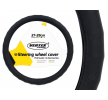 71088/01378 Steering wheel cover Ø: 37-39cm, PVC, Black from AMiO at low prices - buy now!