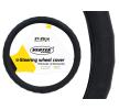 71088/01378 Capa do volante Ø: 37-39cm, PVC, preto de AMiO a preços baixos - compre agora!