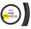71093/01383 Funda cubierta para el volante Ø: 39-41cm, cuero, negro de AMiO a precios bajos - ¡compre ahora!