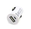 71134/01703 Chargeur voiture de téléphone mobile Nombre d'entrées/sorties: 1 USB, blanc AMiO à petits prix à acheter dès maintenant !