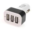 71135/01027 Mobiloplader til bilen Anzahl d. Ein-/Ausgänge: 3 USB, hvid, sort fra AMiO til lave priser - køb nu!