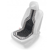 01123/71762 Seat cover beaded, Front, Black from AMiO at low prices - buy now!