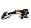 01015 Cámara de visión trasera 12V, con LED, negro, sin sensor de AMiO a precios bajos - ¡compre ahora!