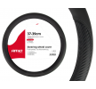 01694 Copri volante nero, Ø: 37-39cm, Finta pelle, Poliestere del marchio AMiO a prezzi ridotti: li acquisti adesso!