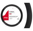 01697 Copertura volante nero, Ø: 37-39cm, Finta pelle del marchio AMiO a prezzi ridotti: li acquisti adesso!