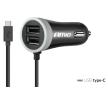 02058 Matkapuhelinlaturit Sisään/ulosmeno aukkojen lukumäärä: 2 USB; 1, johdolla, Musta AMiO-merkiltä pienin hinnoin - osta nyt!