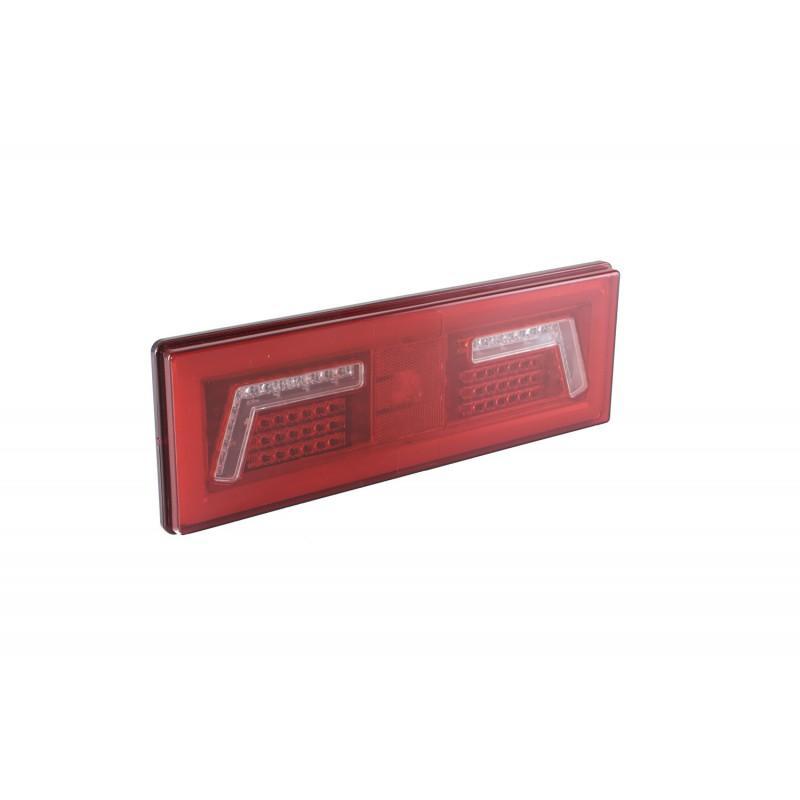 Pirkti L1829 KAMAR galinis, kairė, LED, su kabeliu lęšių spalva: raudona Kombinuotas galinis žibintas L1829 nebrangu