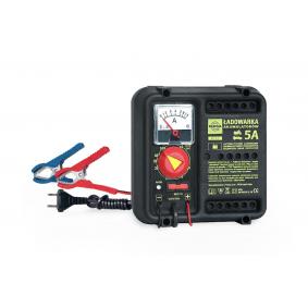 K5505 KUKLA Automatik märkström: 5A, 60(12V)Ah, с индикатором часово Inspänning: 220-240V Batteriladdare K5505 köp lågt pris