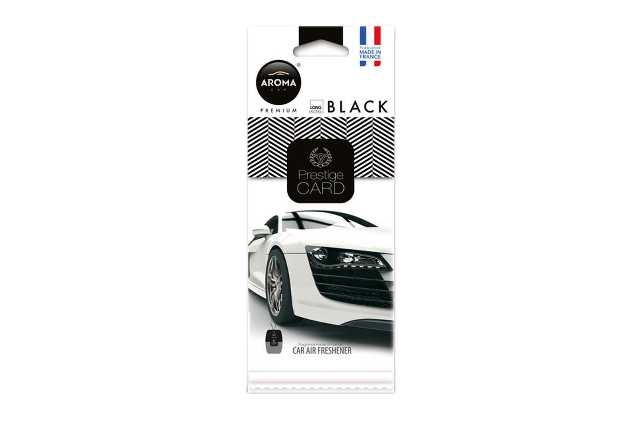 Comprare A92664 AROMA CAR Black, Prestige Card Borsa Profumo A92664 poco costoso