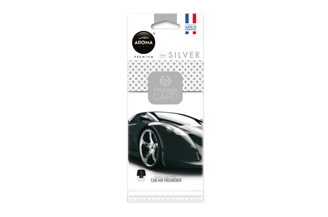 Comprare A92665 AROMA CAR Silver, Prestige Card Borsa Profumo A92665 poco costoso
