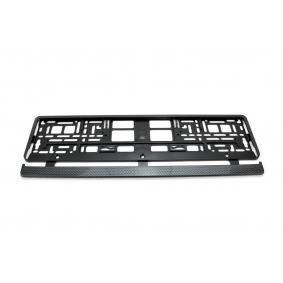 Comprare 71452/01165 UTAL carbonio, cromato Supporti per targhe auto 71452/01165 poco costoso