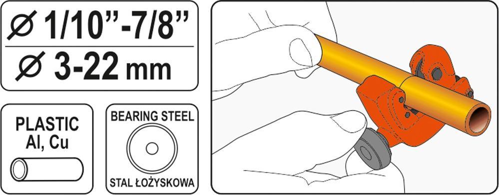 YT-22318 Rohrschneider YATO - Markenprodukte billig