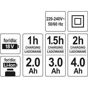 YT82848 Akkuschrauber YATO - Große Auswahl - stark reduziert