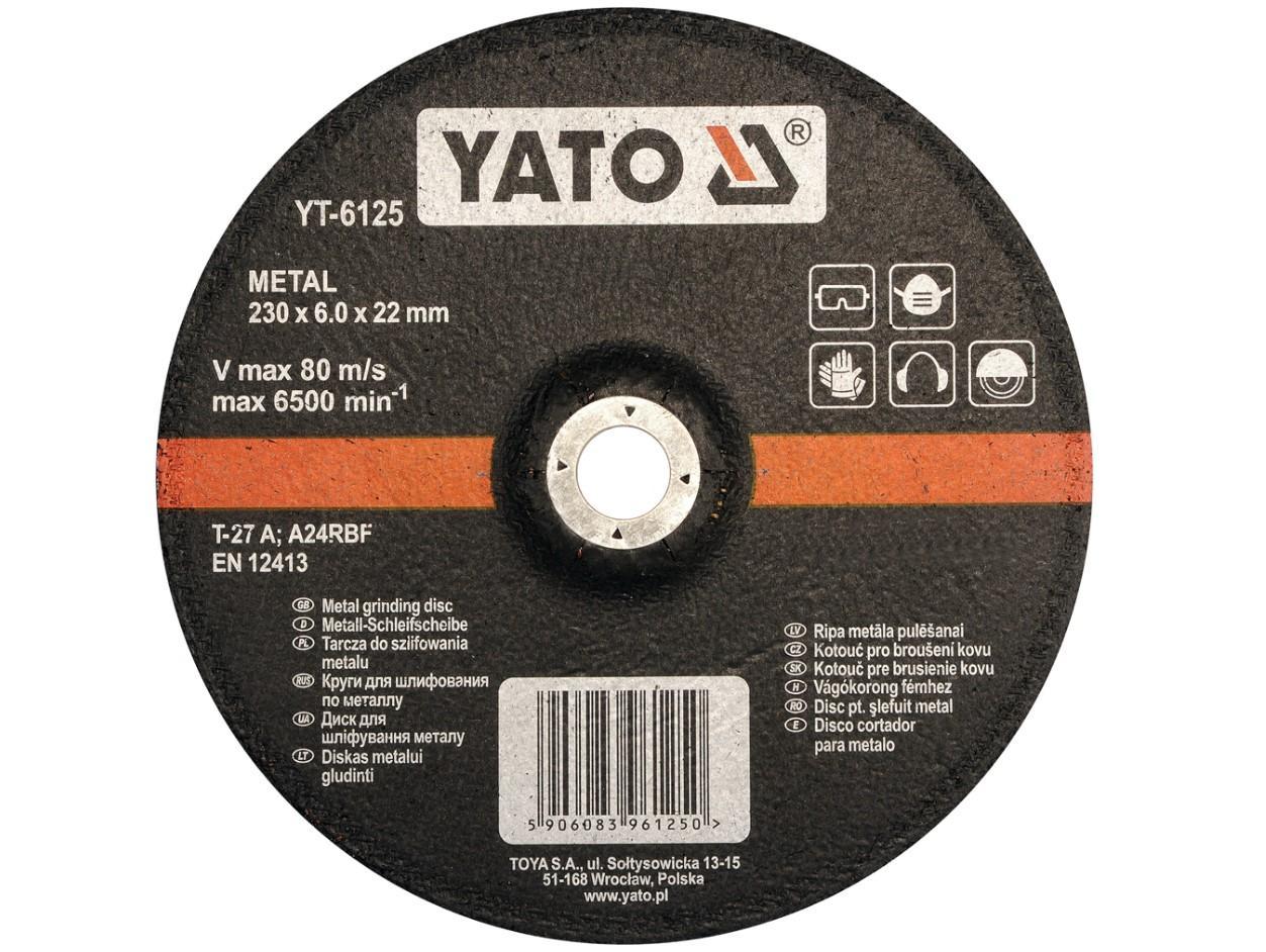 YT-6125 YATO Dicke/Stärke: 6mm Trennscheibe, Winkelschleifer YT-6125 günstig kaufen