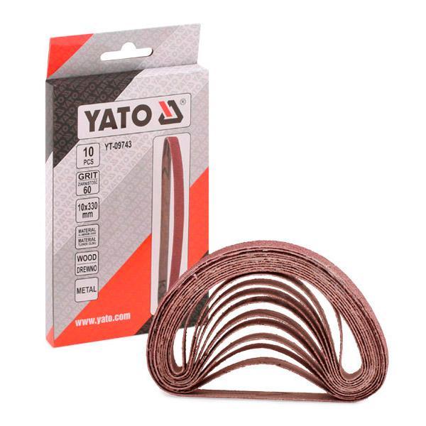 YT-09743 YATO Länge: 330mm, Breite: 10mm, Anzahl Werkzeuge: 10, P60 Bandschleifer YT-09743 günstig kaufen