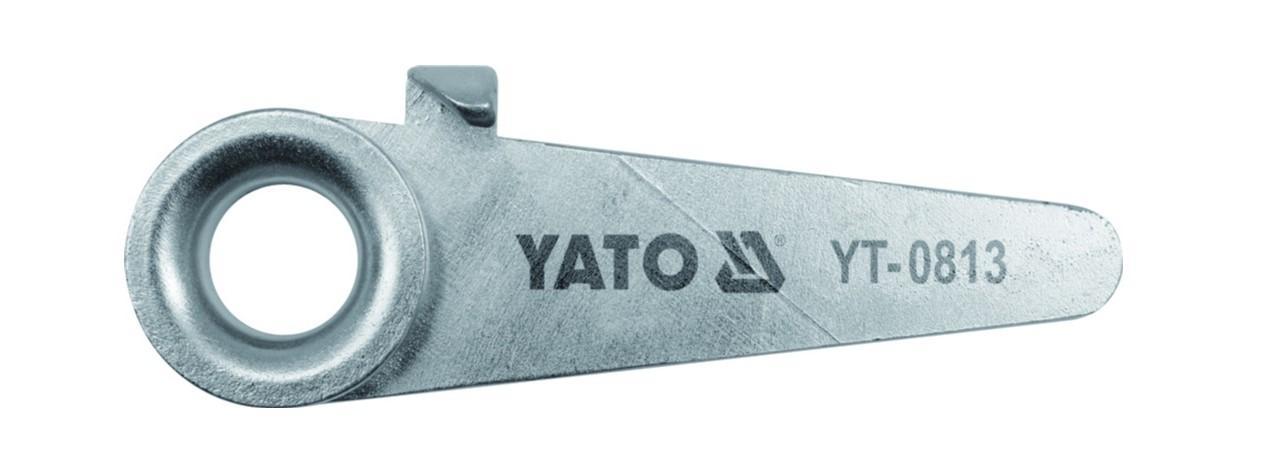 YT-0813 YATO Länge: 125mm Biegeeisen YT-0813 kaufen