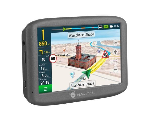 NAVE200T NAVITEL Bluetooth: Ne, Linux, TMC Navigační systém NAVE200T kupte si levně