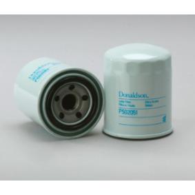 P502051 DONALDSON Anschraubfilter Innendurchmesser 2: 46mm, Ø: 80mm, Außendurchmesser 2: 63mm, Höhe: 100mm Ölfilter P502051 günstig kaufen