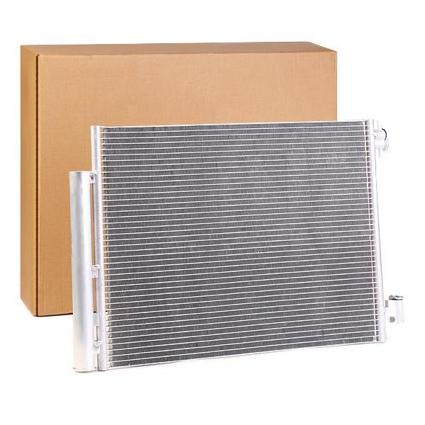 RENAULT 16 Kondensator Klimaanlage - Original RIDEX 448C0302 Kältemittel: R 134a
