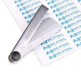 09103SB SW-Stahl rango de medición de: 0.05mm, gama de medición hasta: 1mm, número de hojas: 20mm Galga de espesores 09103SB a buen precio