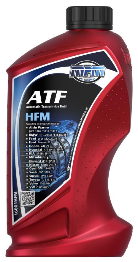 Váltóolaj 16001HFM MPM — csak új alkatrészek