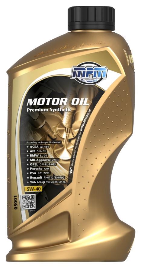 Motorenöl MPM 05001