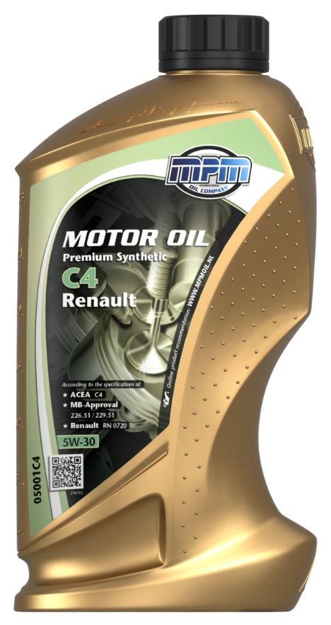 Original RENAULT Motorenöl 05001C4