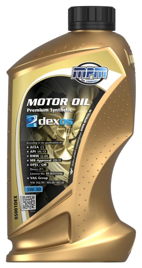 05001DEX MPM Motoröl Bewertung