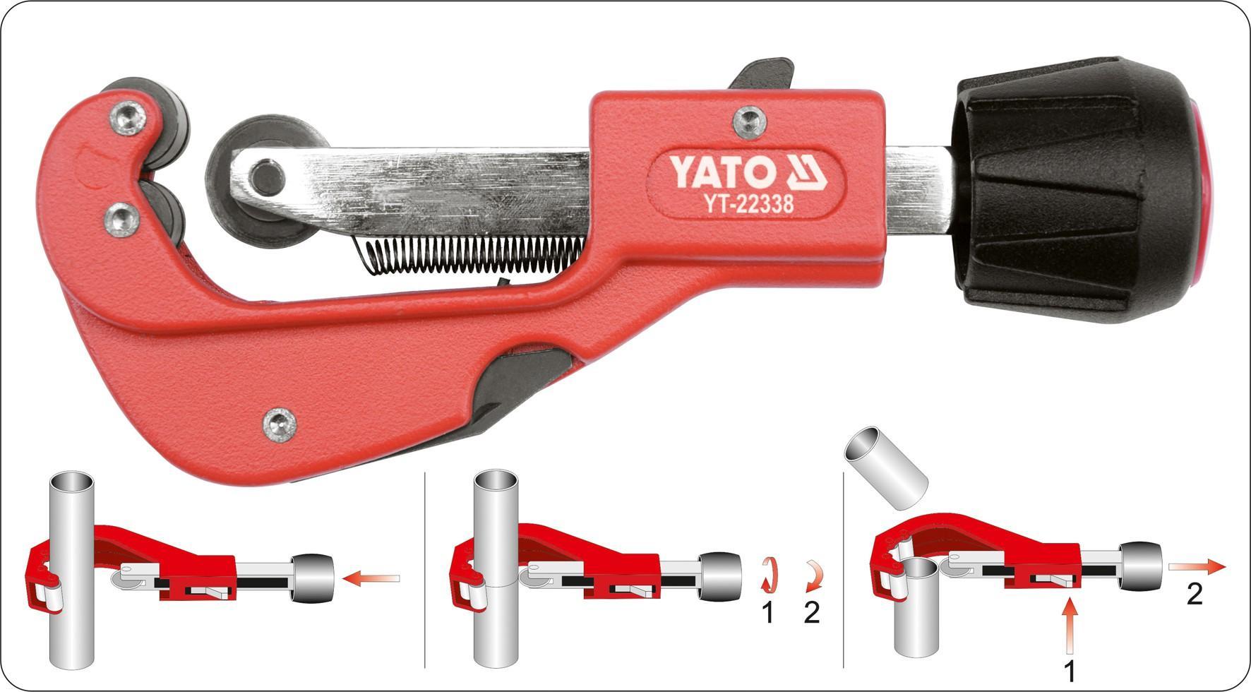 YT-22338 Rohrschneider YATO - Markenprodukte billig