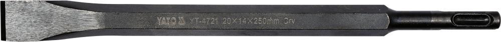 Køb YT-4721 YATO Ø: 20mm, Länge: 250mm, SDS-plus Mejsel, Mejselhammer YT-4721 billige