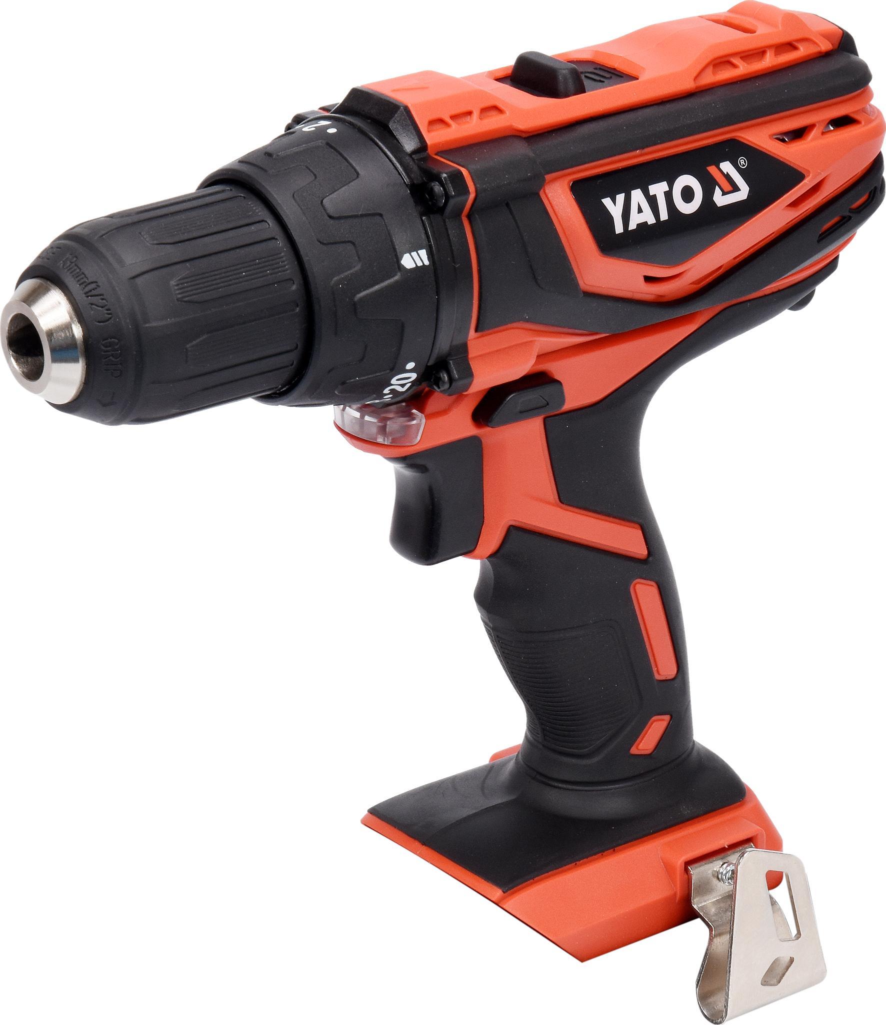 YT-82781 YATO Spannbereich Bohrfutter bis: 13mm, Drehzahl bis: 1650, 4401/min, Drehmoment bis: 40Nm Akkuschrauber YT-82781 günstig kaufen