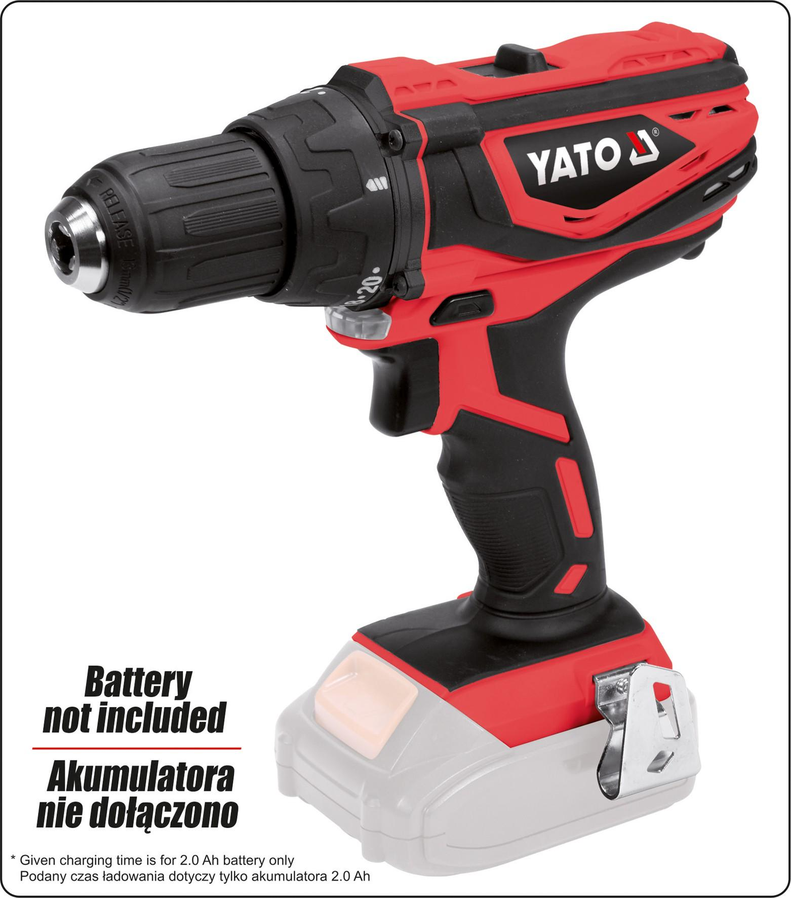 YT-82781 Akkuschrauber YATO - Markenprodukte billig