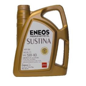 63580577 ENEOS Sustina 5W-40, 4l, Synthetiköl Motoröl 63580577 günstig kaufen
