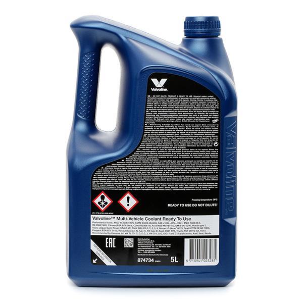 874734 Kühlerfrostschutzmittel Valvoline - Markenprodukte billig