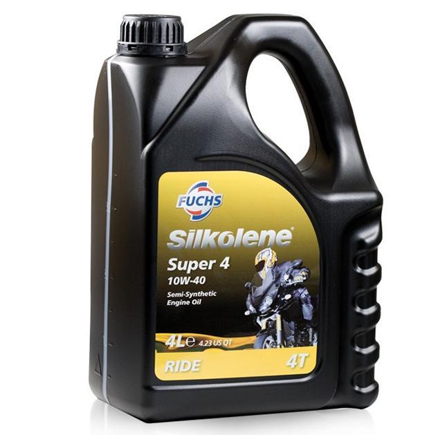 FUCHS Silkolene Super 4 Motorolja 10W-40, 10W-40, 4l, Delsyntetolja 600756925 LIFAN