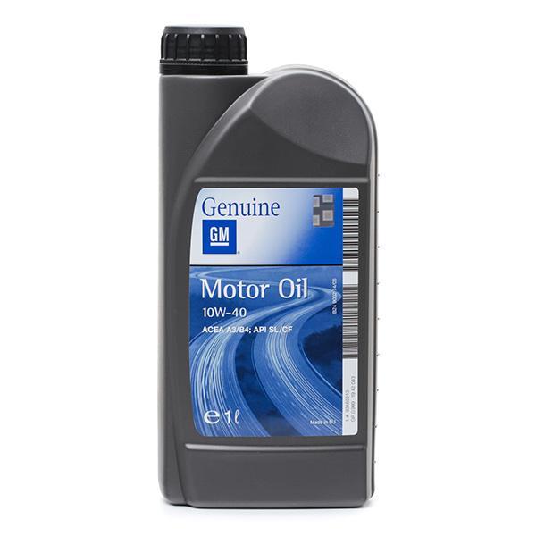OPEL GM | Motoröl 93165213