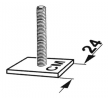 05200410 KAMEI Adapter, taklasthållare – köp online