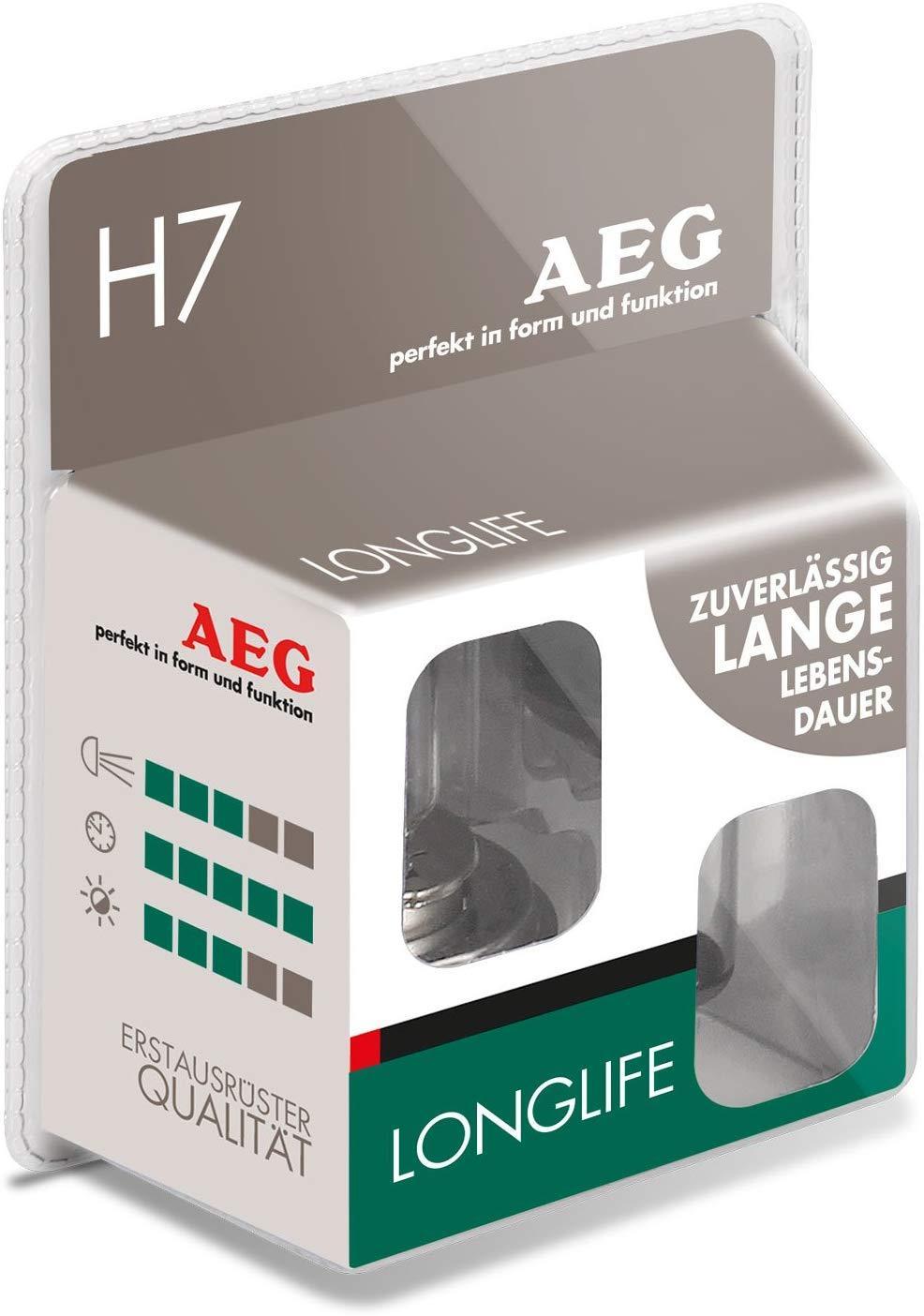97266 AEG LONGLIFE H7 12V 55W Glühlampe, Fernscheinwerfer 97266 günstig kaufen