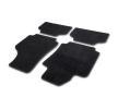 10603 Vloermatten Textiel, voor en achter, Aantal: 4, Zwart van CARTREND aan lage prijzen – bestel nu!