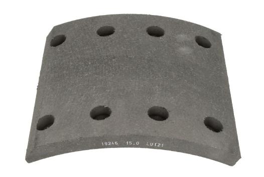 19246 00 121 10 LUMAG Bremsbelagsatz, Trommelbremse billiger online kaufen