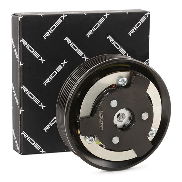 RIDEX | Magnetkupplung, Klimakompressor 1236M0015