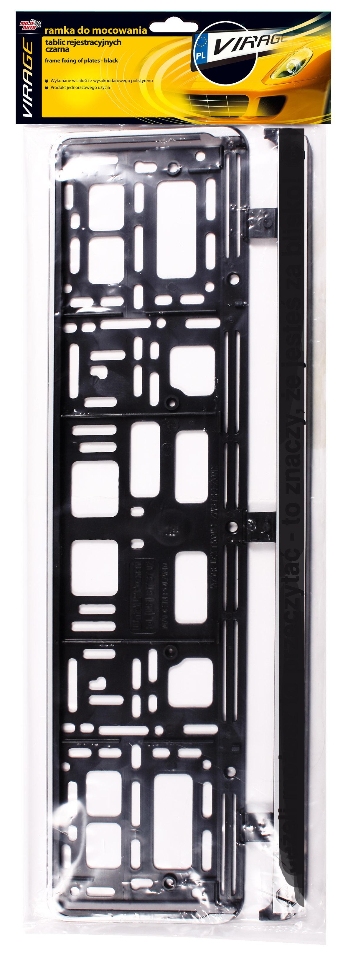 93001 Supporti per targhe auto VIRAGE 93-001 - Prezzo ridotto