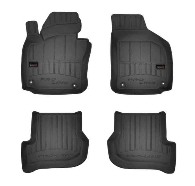 VW GOLF 2014 Passgenaue Fußmatten - Original FROGUM 3D407145