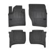3D407671 Vloermatset Voor en achter, Zwart, Rubber, Aantal: 4 van FROGUM aan lage prijzen – bestel nu!
