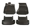 3D407954 Vloermatset Voor en achter, Zwart, Rubber, Aantal: 4 van FROGUM aan lage prijzen – bestel nu!